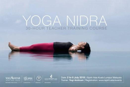 Yoga Nidra Teacher Training Course in Malaysia   Yogi Amitram