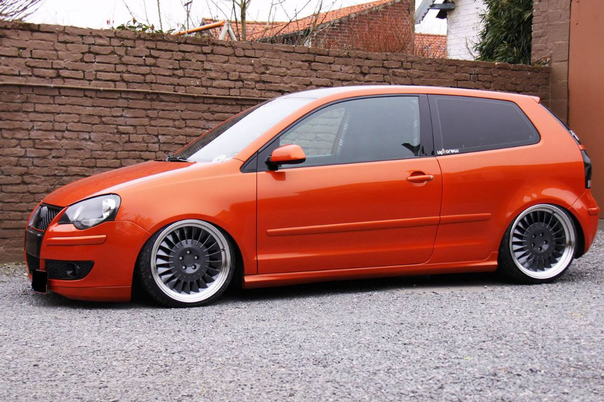 hight resolution of vw polo gti mk4