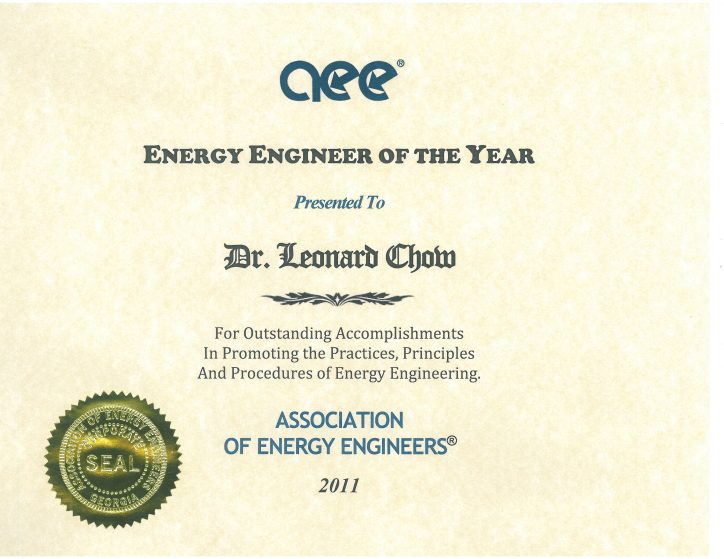 Association energy engineers _AEE 2011