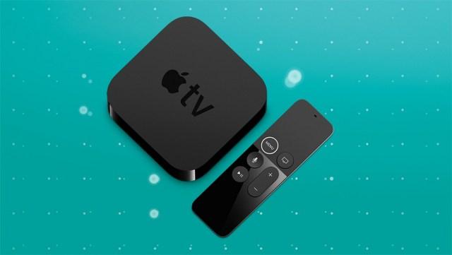 ee apple tv 4k top view