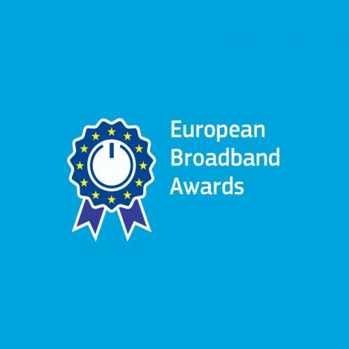 european broadband awards logo