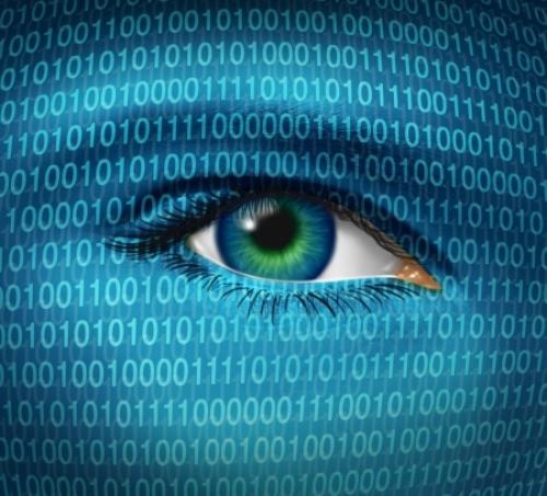 internet spying eye