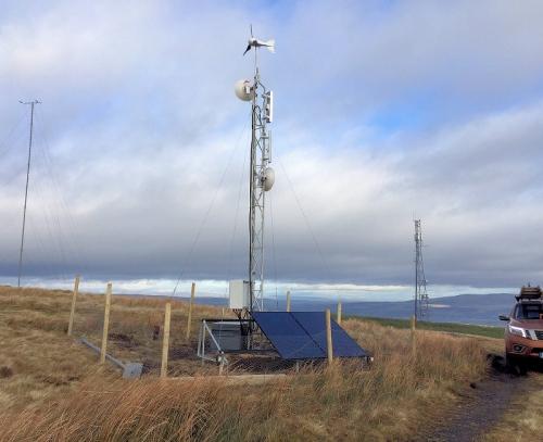 briskona broadband mast wireless uk