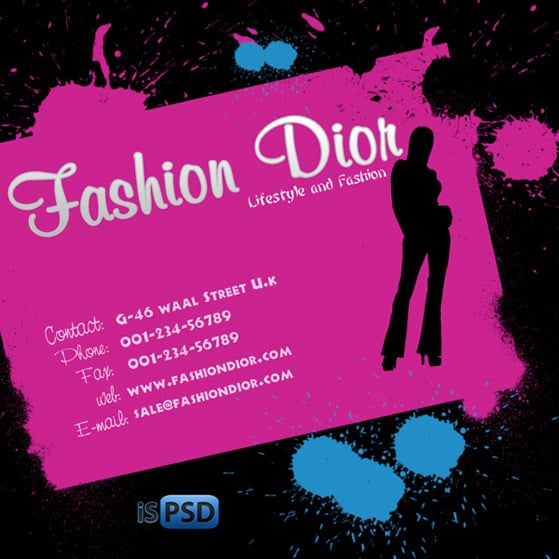 Fashion Flyer PSD