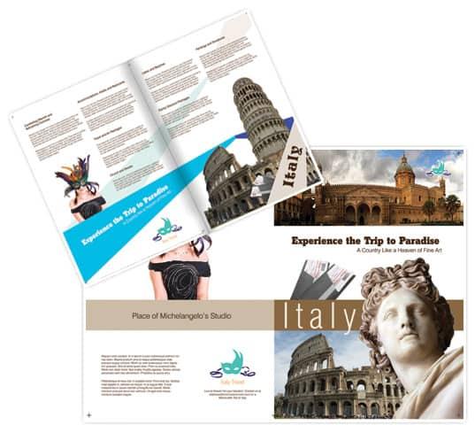 30 Beautiful Travel Brochure Designs