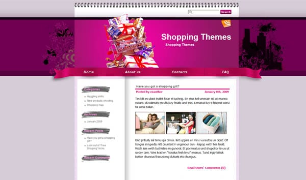 25 free dreamweaver css templates available to download for Dreamweaver newsletter templates