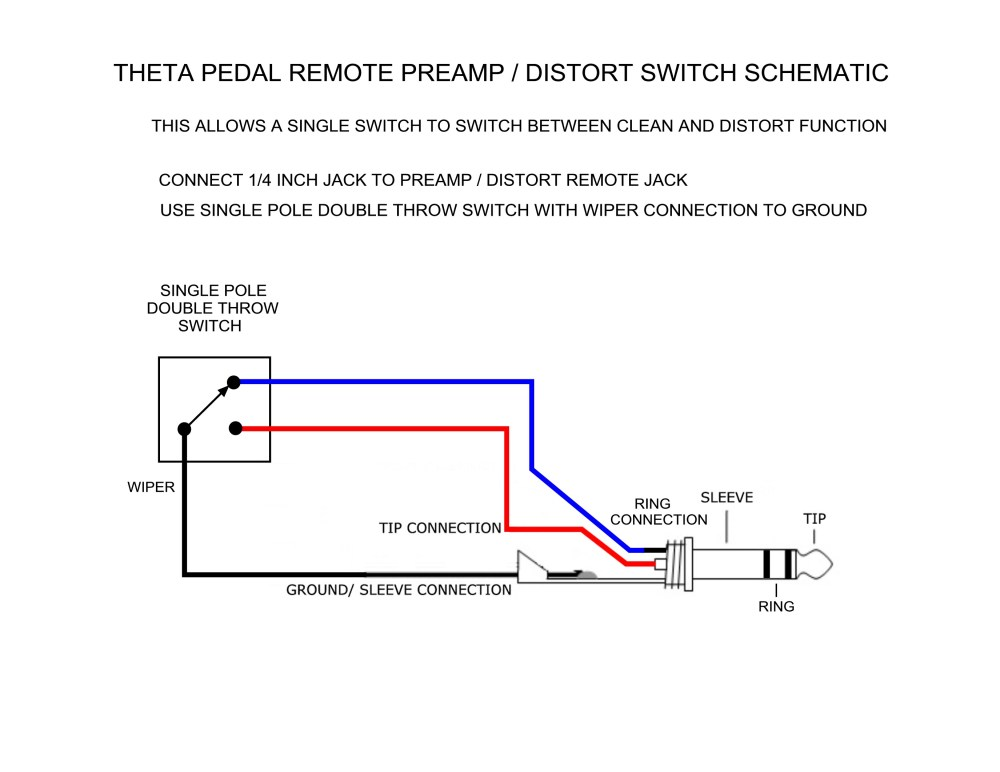 medium resolution of theta pedal remote switch schematic