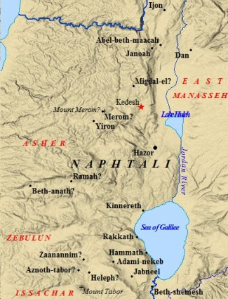 Image result for land of zebulon and naphtali