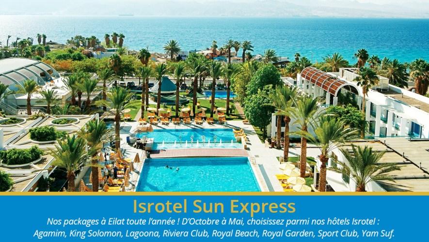 Isrotel Sun Express Israël ville Eilat
