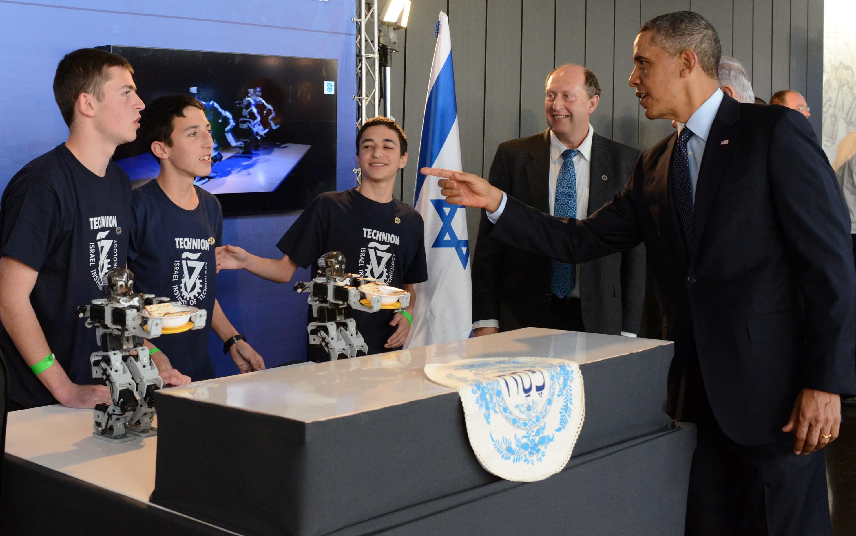 Israeli tech wows Obama  ISRAEL21c
