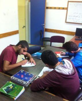 Los estudiantes que participan en Yeholot. Foto cortesía de la Fundación Rashi