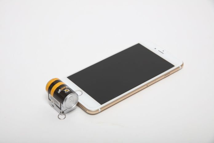 Power for your smartphone in a pinch. Photo courtesy of Mobeego
