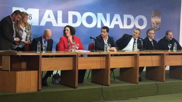 Verwaltung von Maldonado weiht eine $ 20 Millionen Videoüberwachungszentrale mit israelischen Technologien ein.