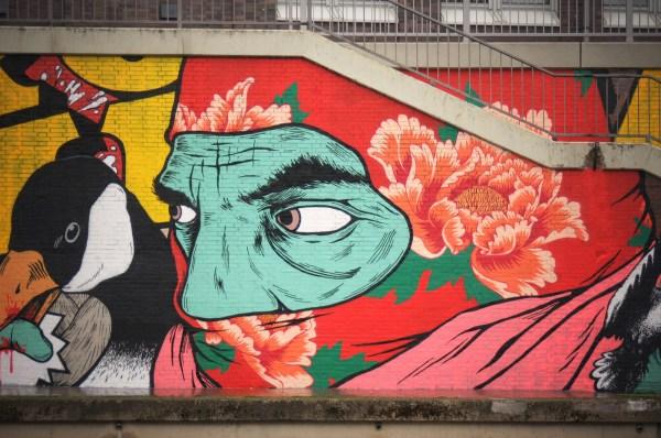 Israeli Street Art Writing Wall Israel21c