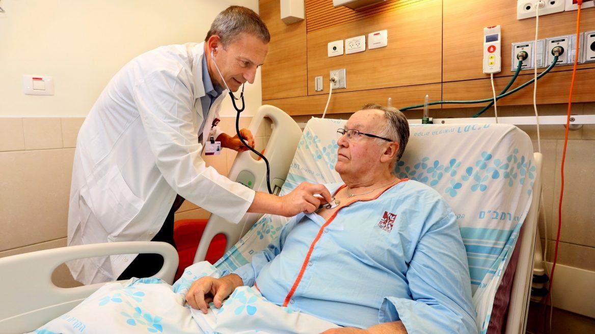 Haifa hospital tests first implant for heart failure ...