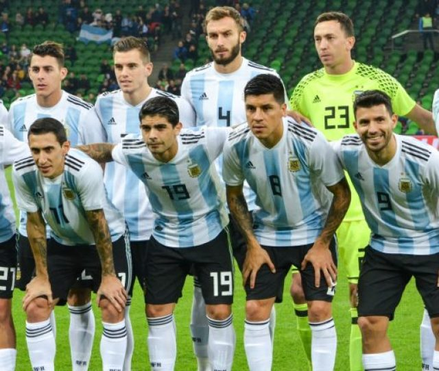 The Argentina National Football Team Captained By Lionel Messi Photo By Vlad1988 Shutterstock Com