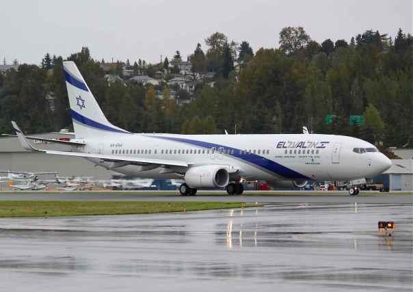 newest 9d873 4f584 EL AL 737-900ER 4X-EHA at Boeing Field, 2 October 2013 (