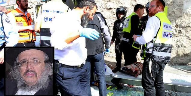 rabbi murdered in jerusalem
