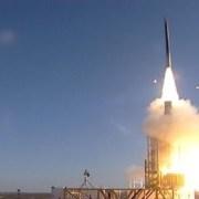 David's sling missile test