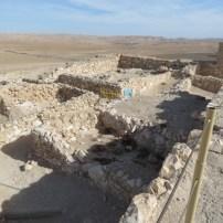 Inside the Tel Arad Israelite Fortress