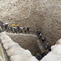Descent to Tel Sheva Cistern and Tunnel