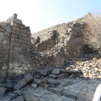 Roman battering ram broke through Gamla's wall