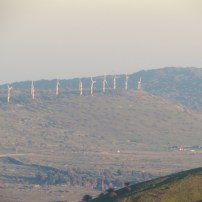 Golan Heights Wind Farm Alonei Habashan