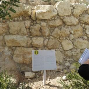 Caananite City Wall Area