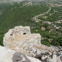 View to outer fortress