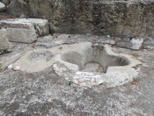 Emmaus - Nicopolis Baptistry