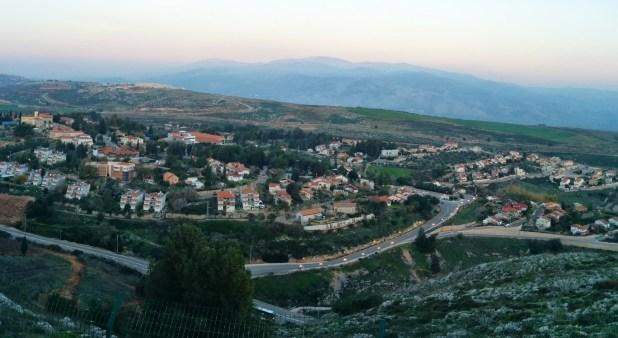 Panorama from Mitzpe DadoPanorama from Mitzpe Dado