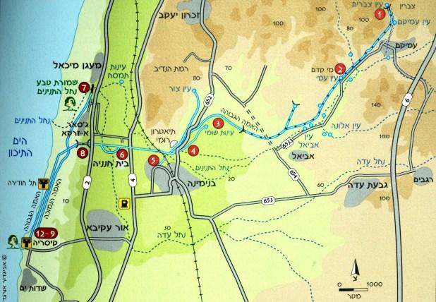Crusader Aqueduct to Caesaria