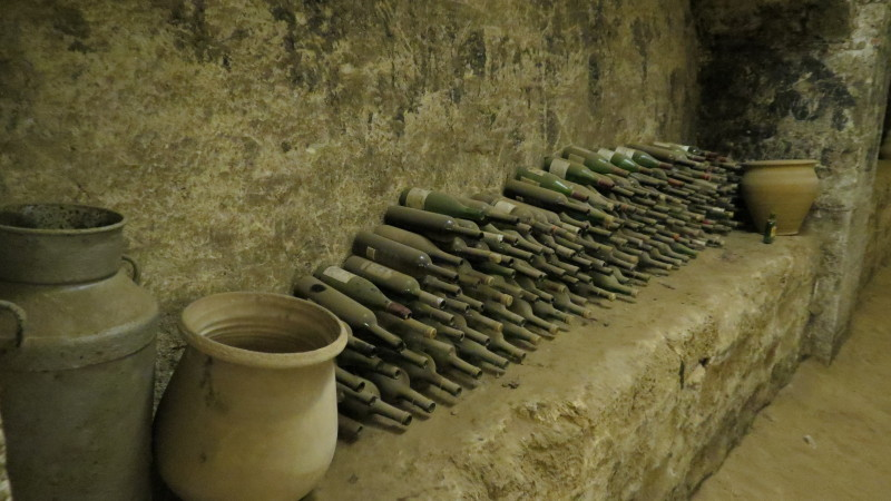 Bottles in Winery Mikveh Yisrael