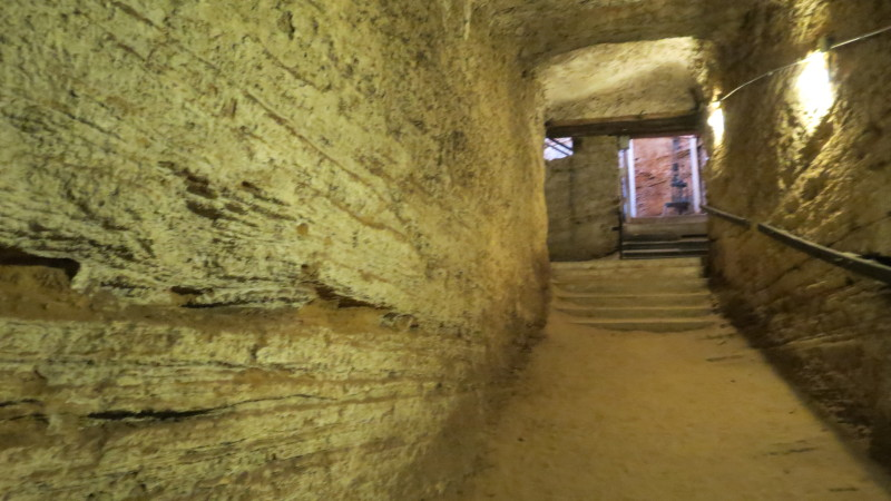Kurkar Passage in Winery Mikveh Yisrael
