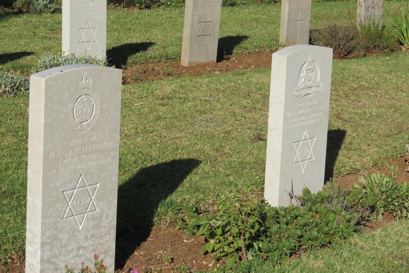 Jewish Section British War Cemetery Jerusalem