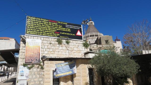 Shihab al-Din Square - Anti-Chrisitian Posters