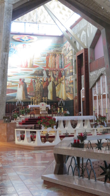 Inside the Church of the Annunciation5.07