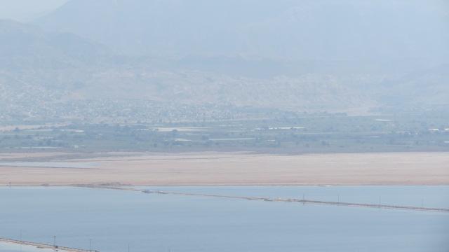 Mount Sodom - Dead Sea salt evaporation ponds