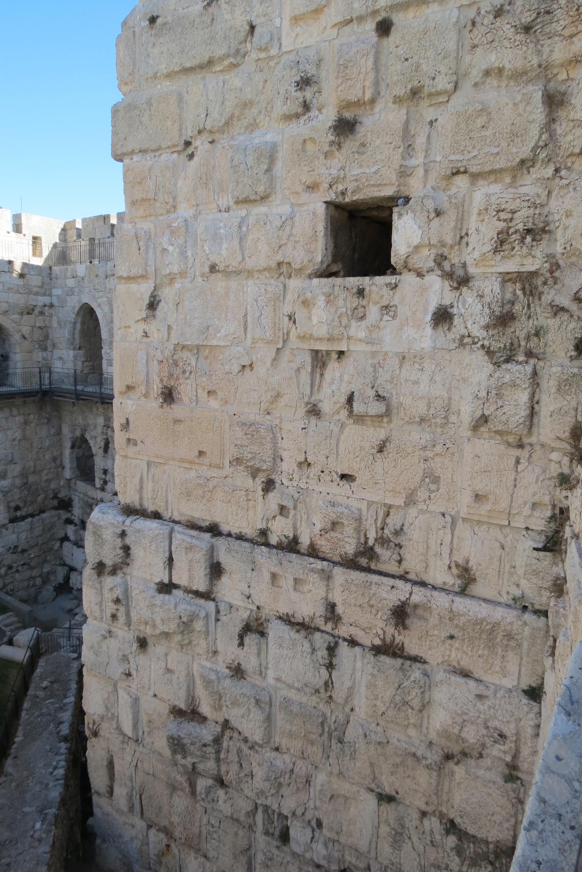David's Citadel - eclectic stones