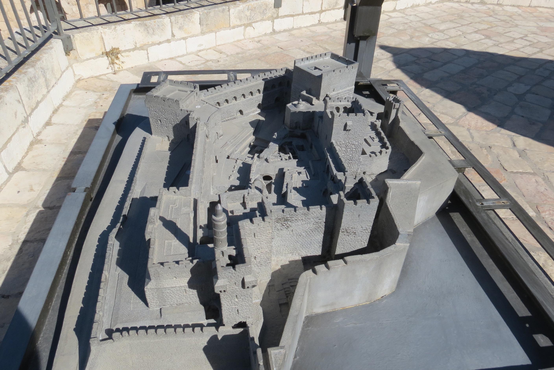 David's Citadel - model