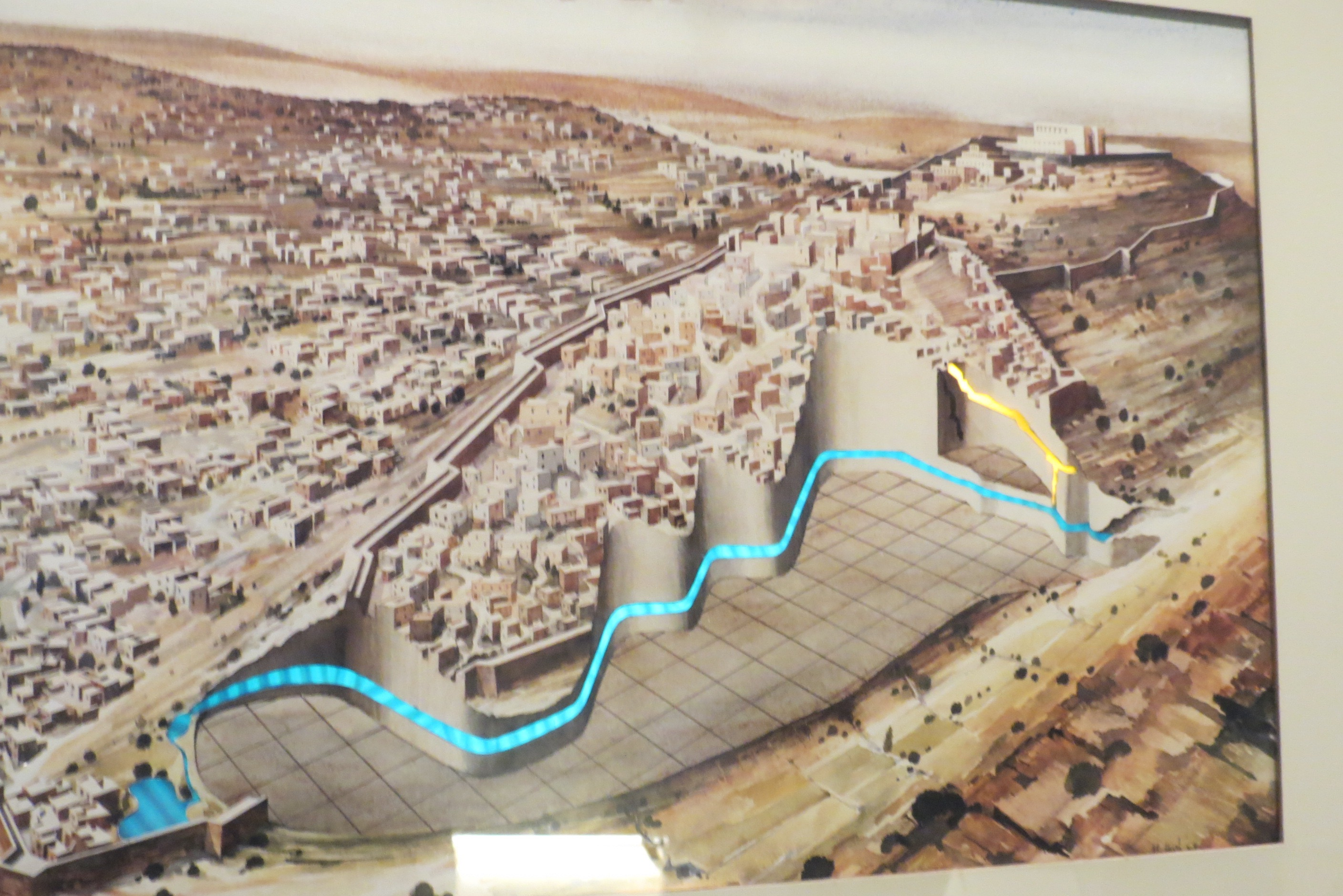Permanent Exhibition at Tower of David - the Siloam Tunnel