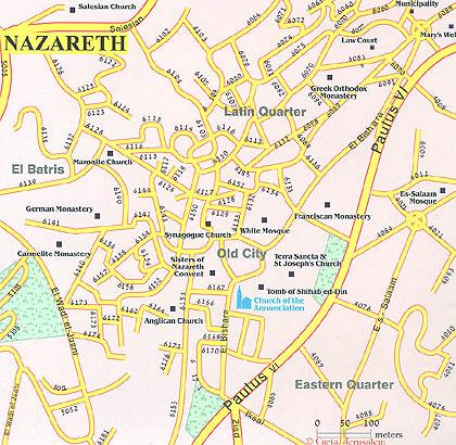 Pilgrims Road Nazareth