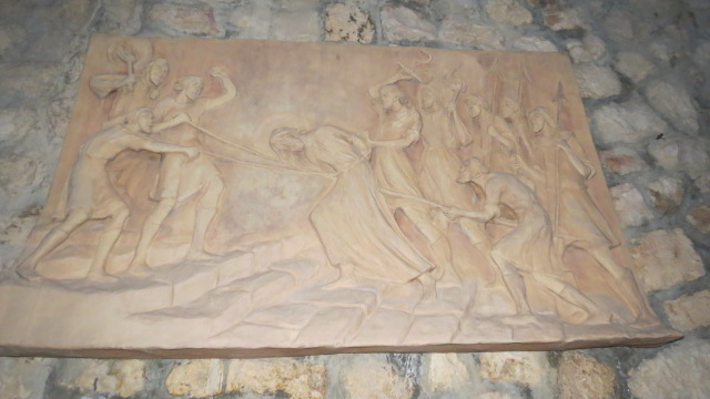 """Church of Saint Peter in Gallicantu -    """"Those who had arrested Jesus took him to Caiaphas the high priest"""""""