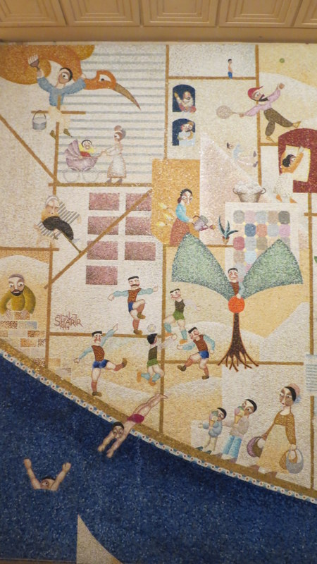 David Sharir's Mosaic Wall