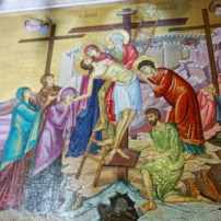 13 Station -Descent from the Cross - Stone of Anointing