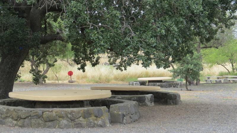 Korazim picnic tables