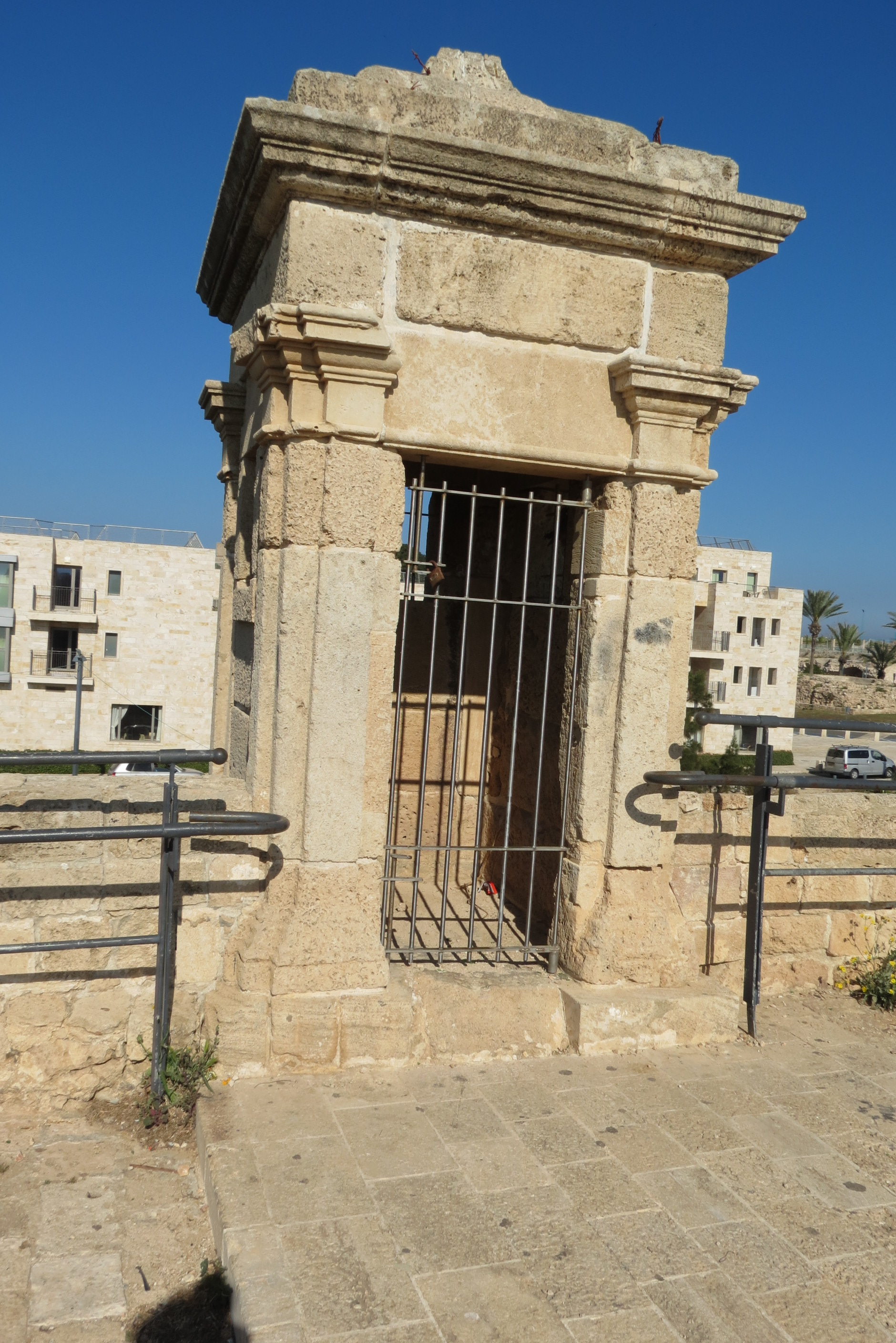 Guard house on Walls of Acco