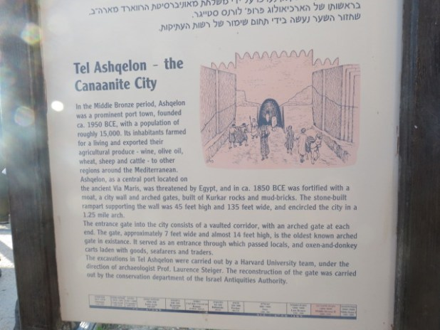 The Canaanite City-Ashkelon