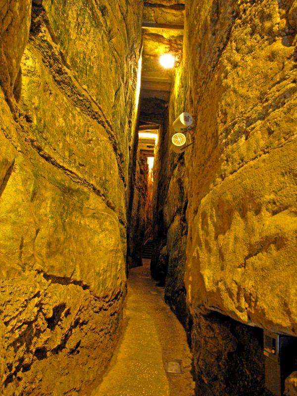 Kotel Tunnels Photo: תמר הירדני (באדיבות הקרן למורשת הכותל)