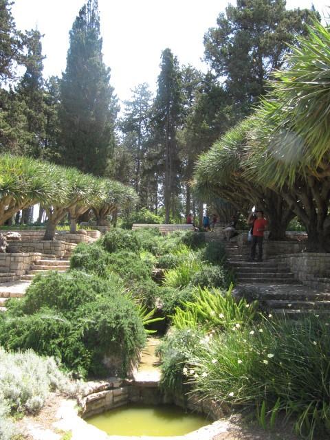 Ramat Hanadiv - Cascade Park